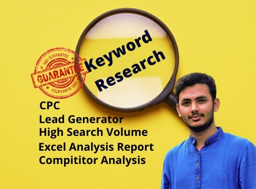 I will do advanced SEO keyword research and competitor analysis