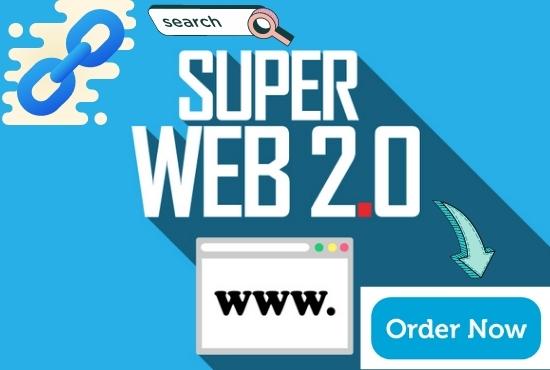 build 20 High-quality web 2.0 backlinks for SEO boosting