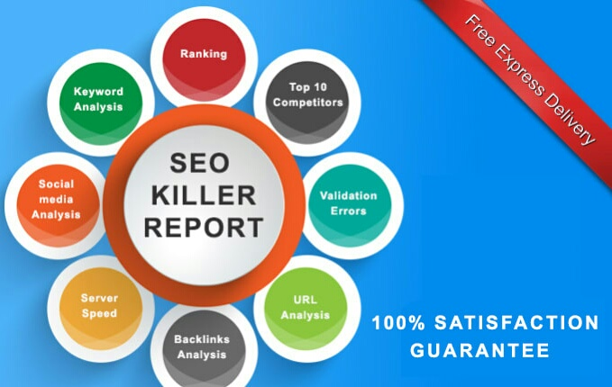 I will provide you Professional Backlinks detailed SEO reports