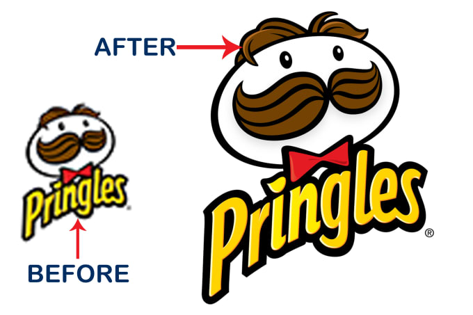 I will do jpg to vector, redraw in high resolution and redesign logo