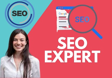 I will be your expert SEO consultant, giving you specialist advice