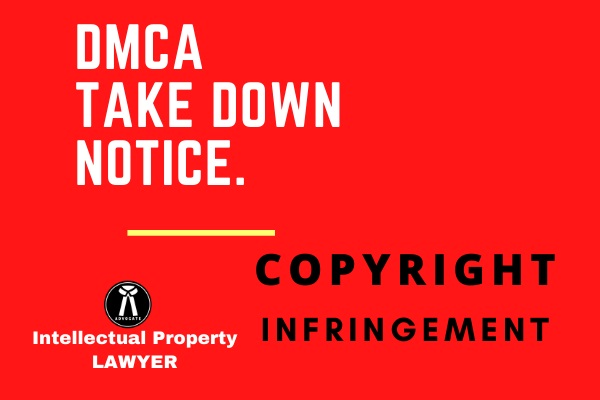 I will draft your DMCA Take Down Notice.