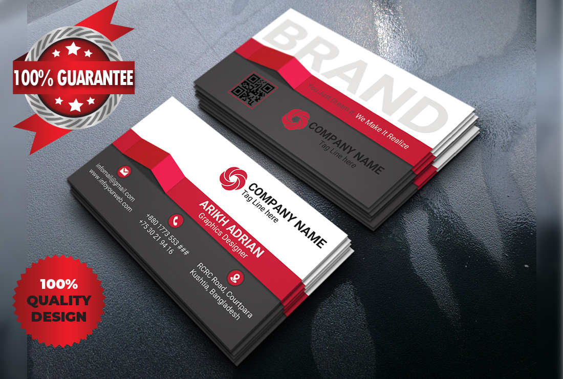 I will do awesome business card,  minimalist business card & id card design professionally within 24