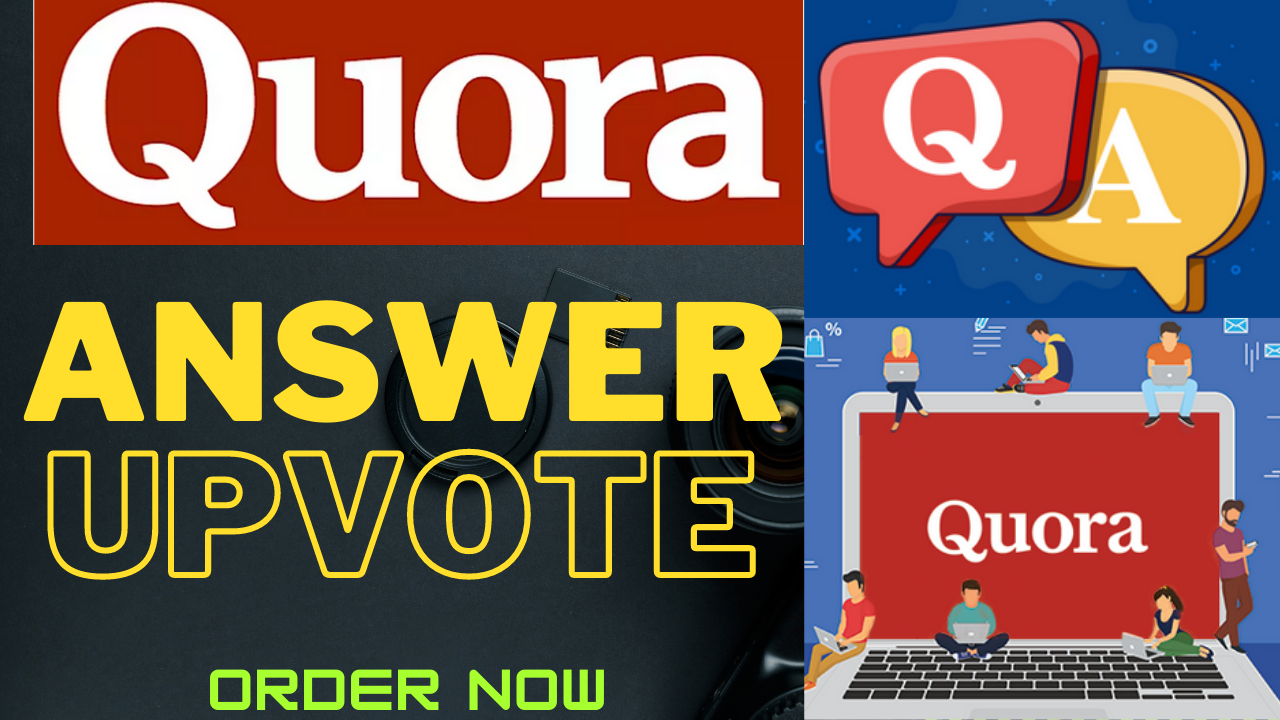 Promote Website with 16 Quora Backlink + 50 USA Upvotes