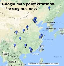 I will create 1500 google map point citations listing with your local business