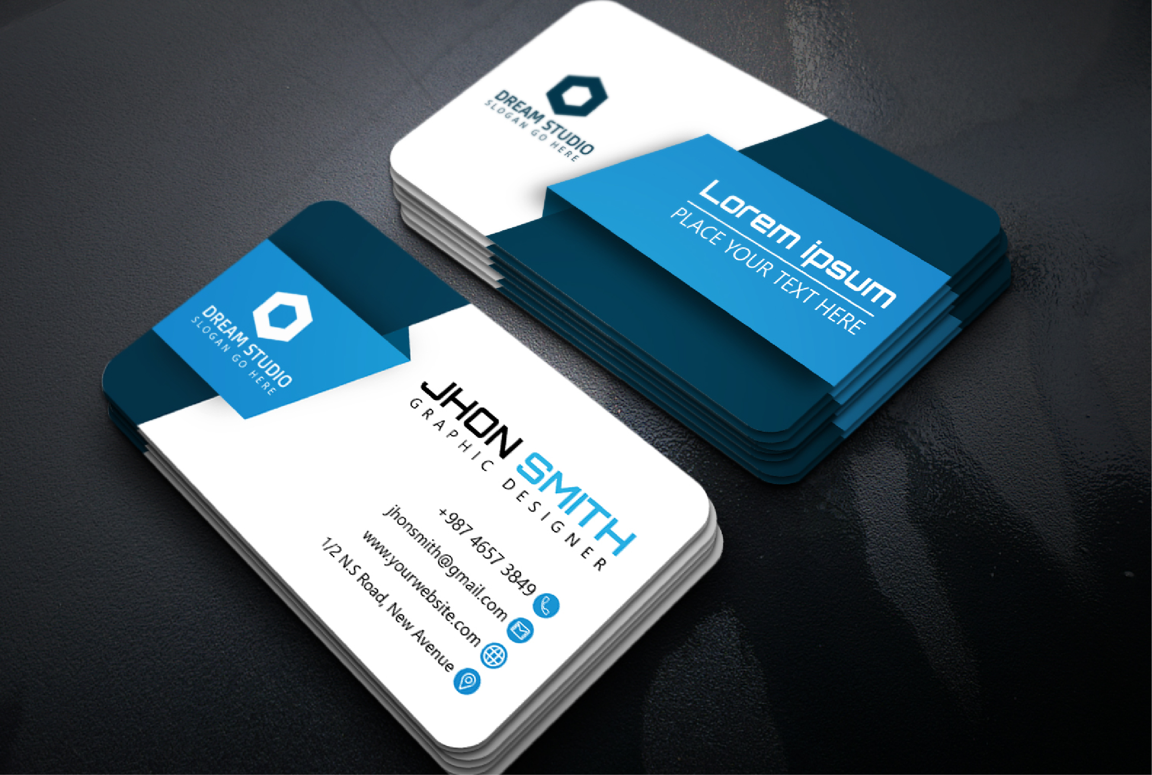 I will design impactful and modern business card for you