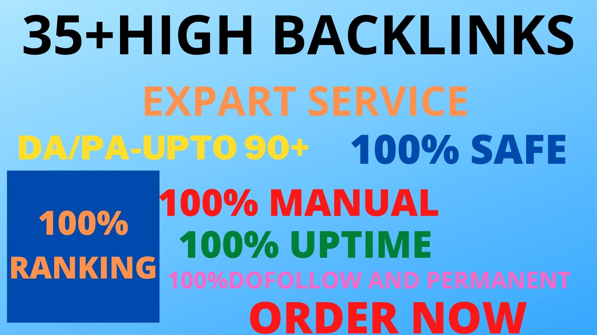 Get powerful 35+ pbn backlinks with high DA/PA on your homepage with unique website