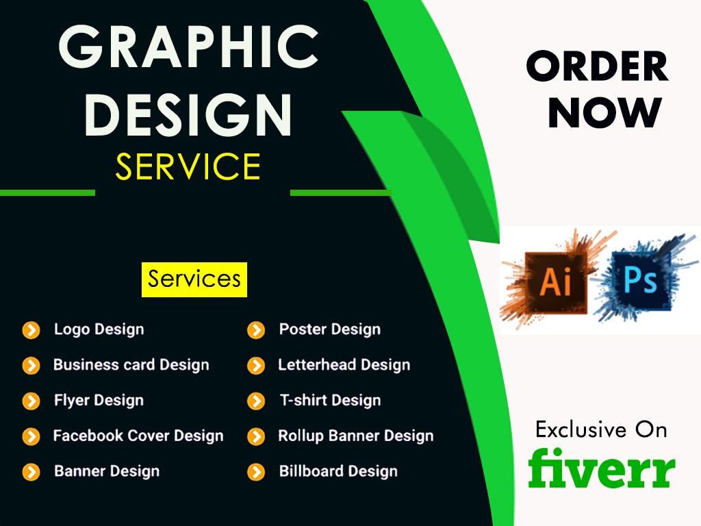 i will professional graphic designer.