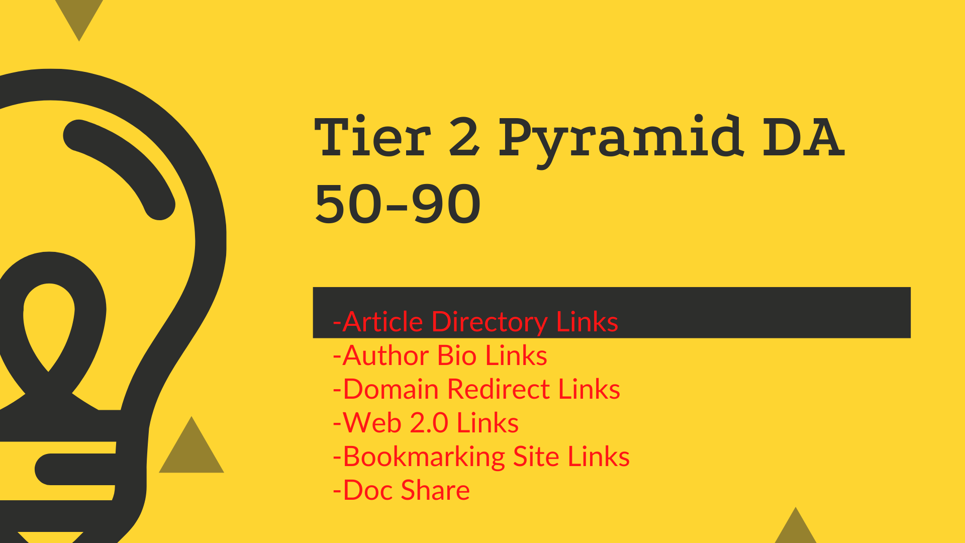 Building Tier 2 Pyramide DA 50-90