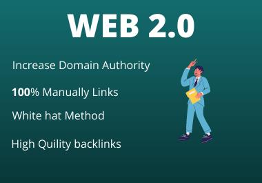 30 Web2.0 High Authority Permanent backlink unique content dofollow property permanent link building