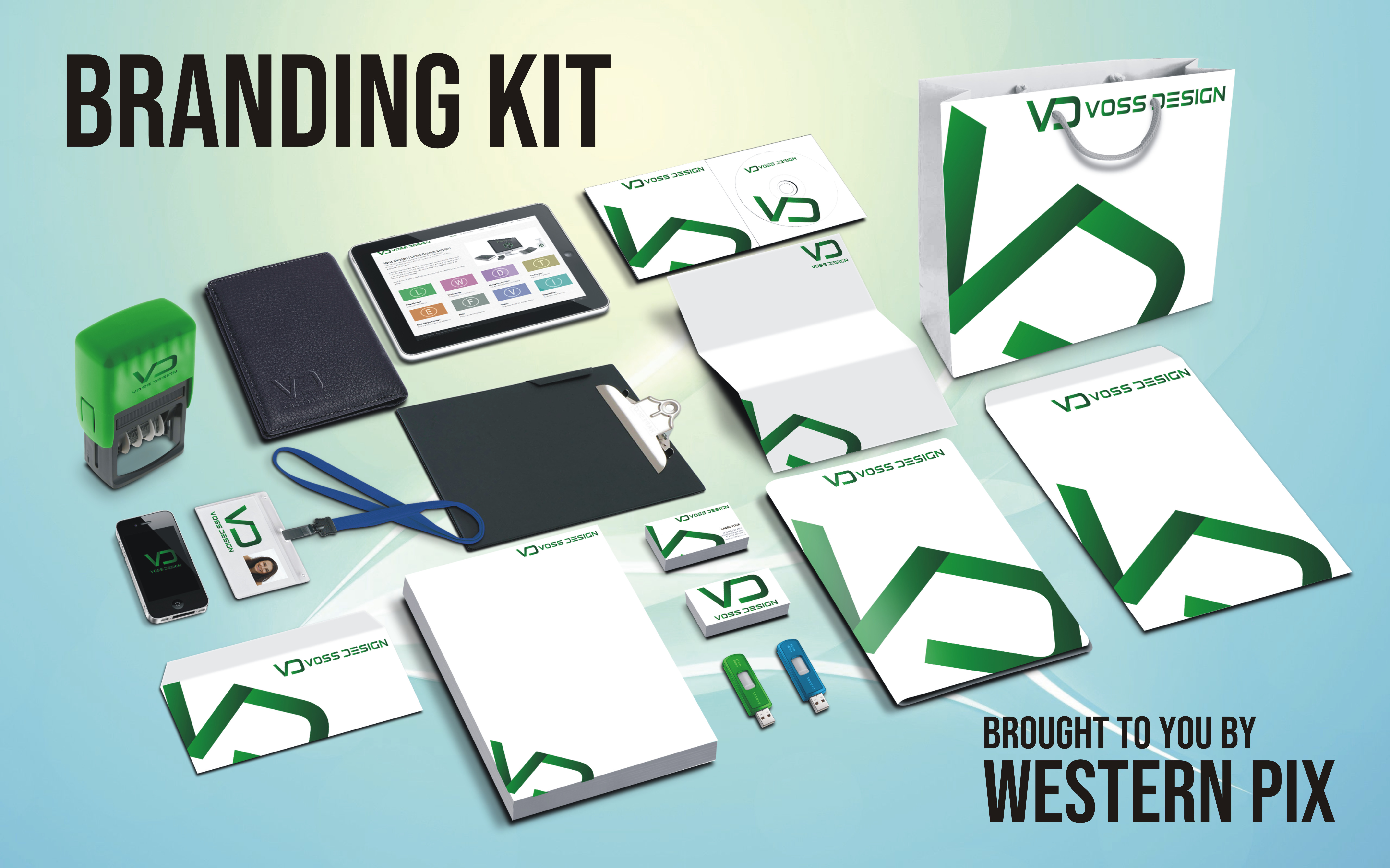 I will design your Professional Branding Kit