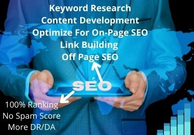 I Will Do Complete SEO For Your Website or Blog