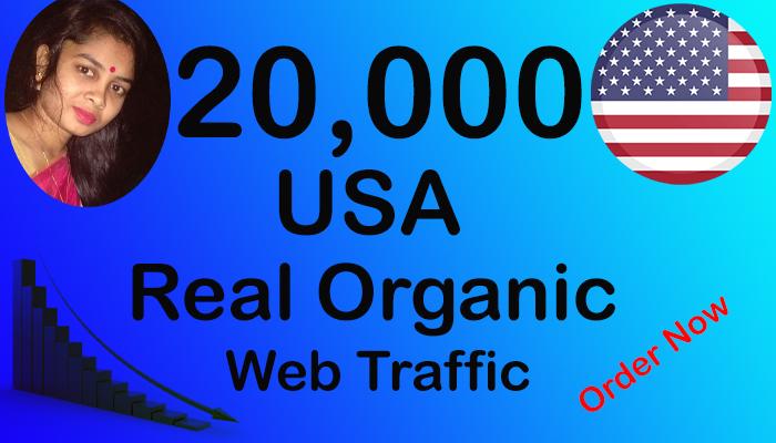 Get 20,000 USA Website Traffic Within 4 Days