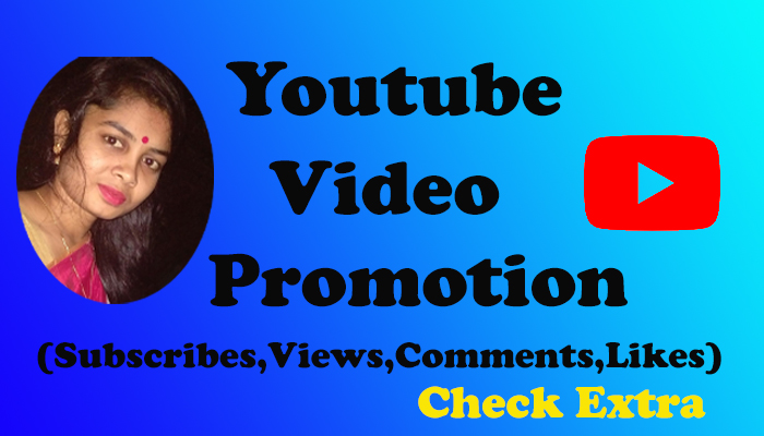 I will Do the only YouTube Video Promotion and Social Media Marketing with Genuine Visitor beat One