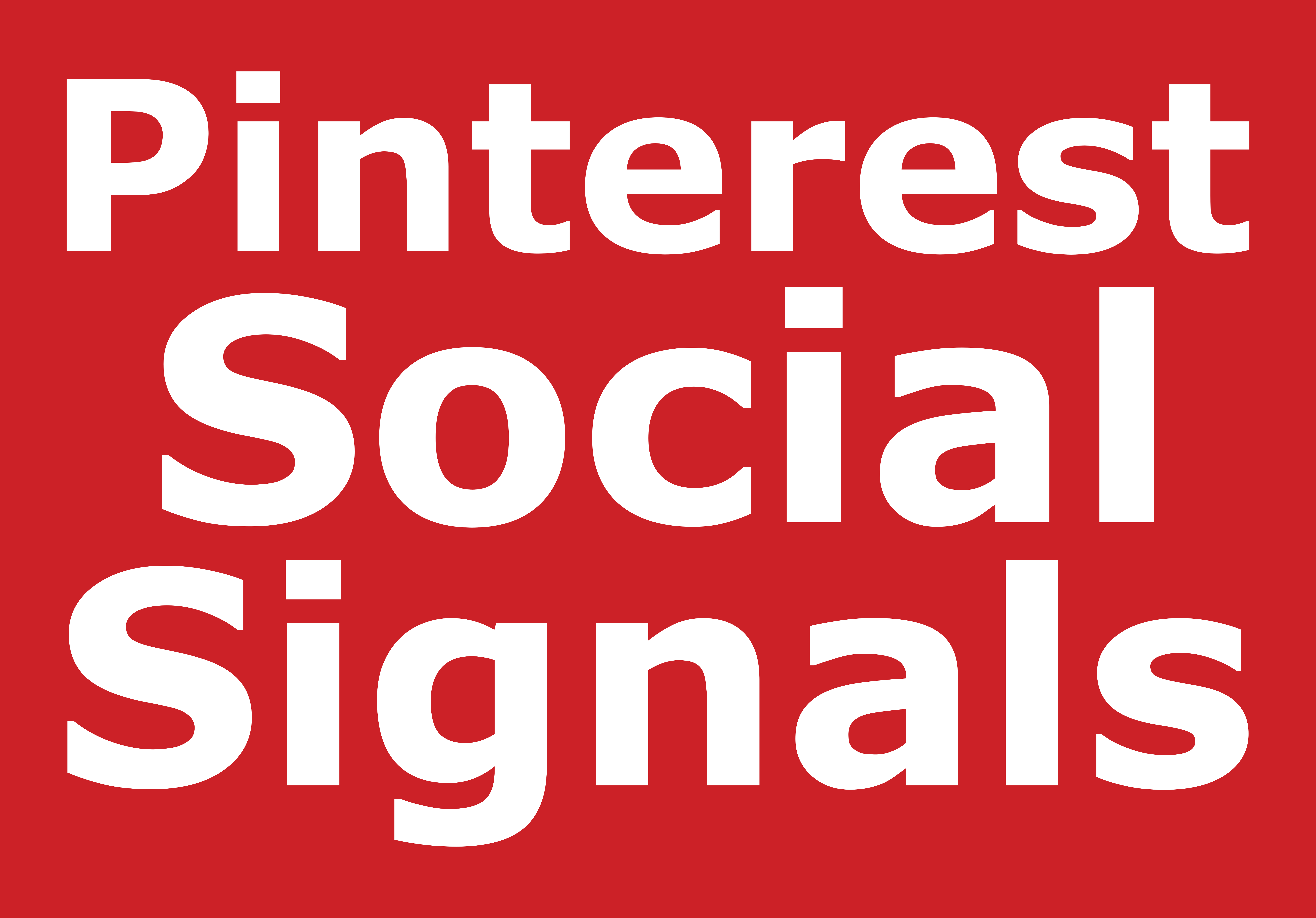 Pinterest Social Signals SEO Boost increase Google Ranking to your website