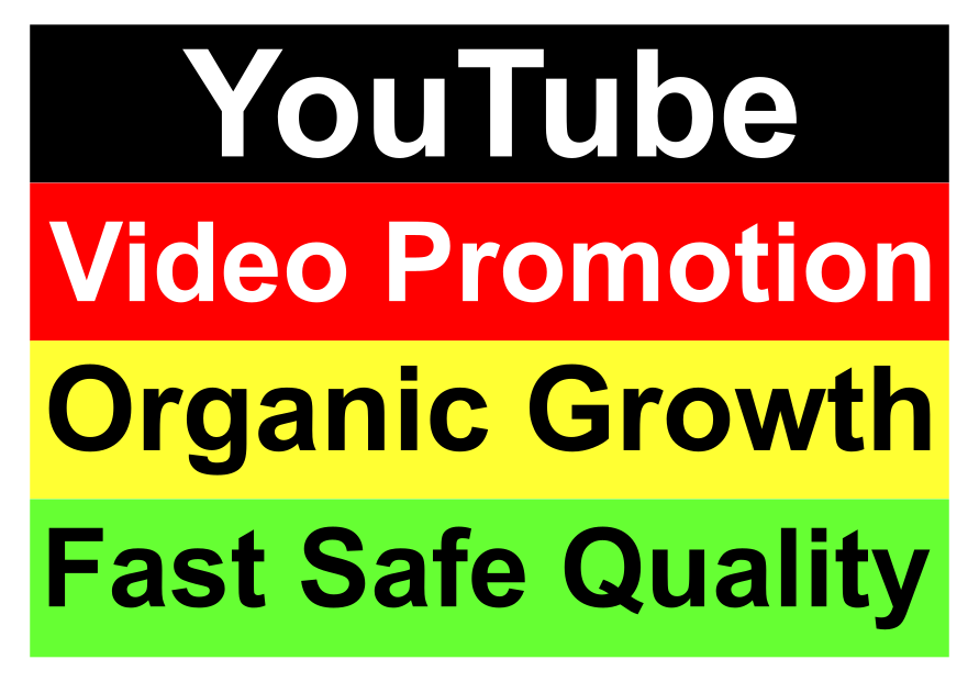 High Quality YouTube Video Marketing Promotion for SEO Ranking