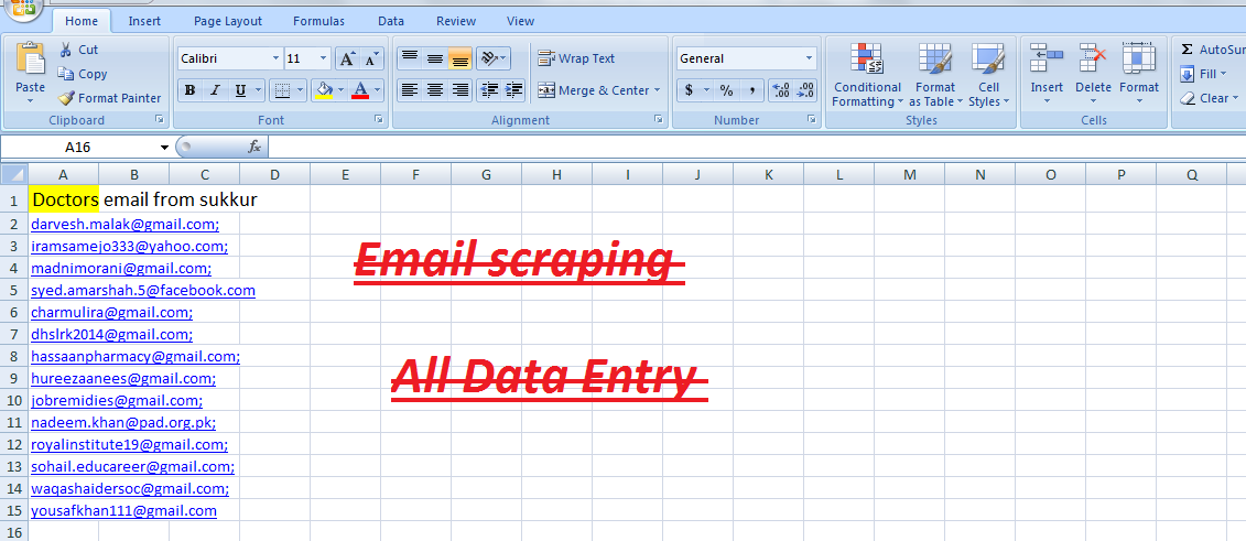 I will do any kind of data entry within 24 hours