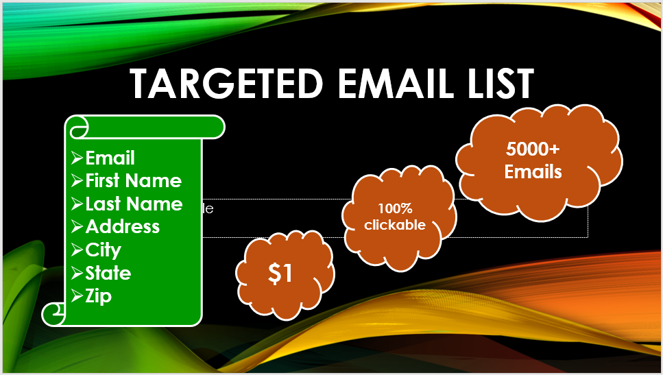 I will provide 5000+ verified EMAILS