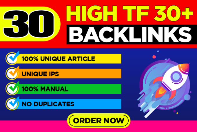 do 15 USA Based EDU/GOV And 15 USA High Trust Follow Dofollow SEO Backlinks