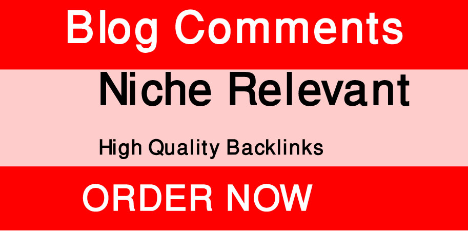 I Will create 35 Niche relevant blog comments backlinks with high da pa.