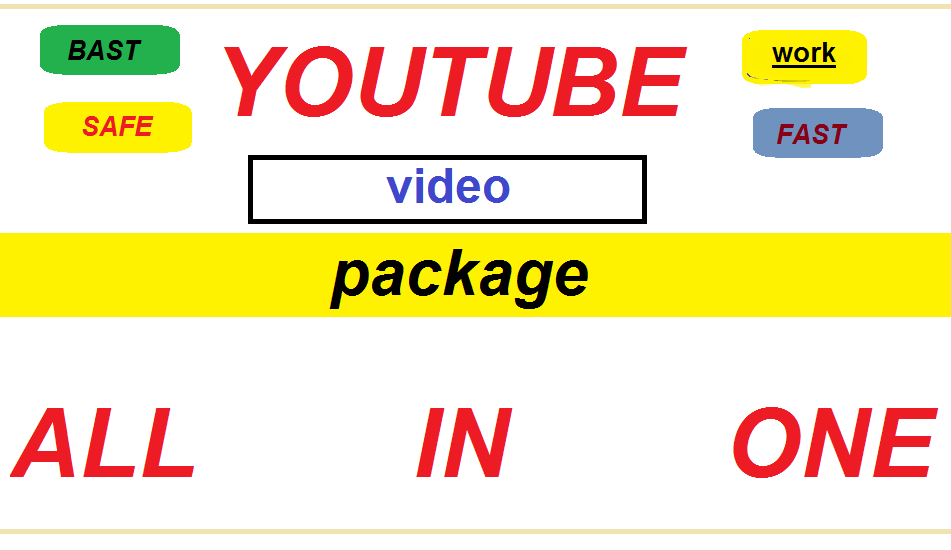 Top fast quality instant start youtube video promotion service.