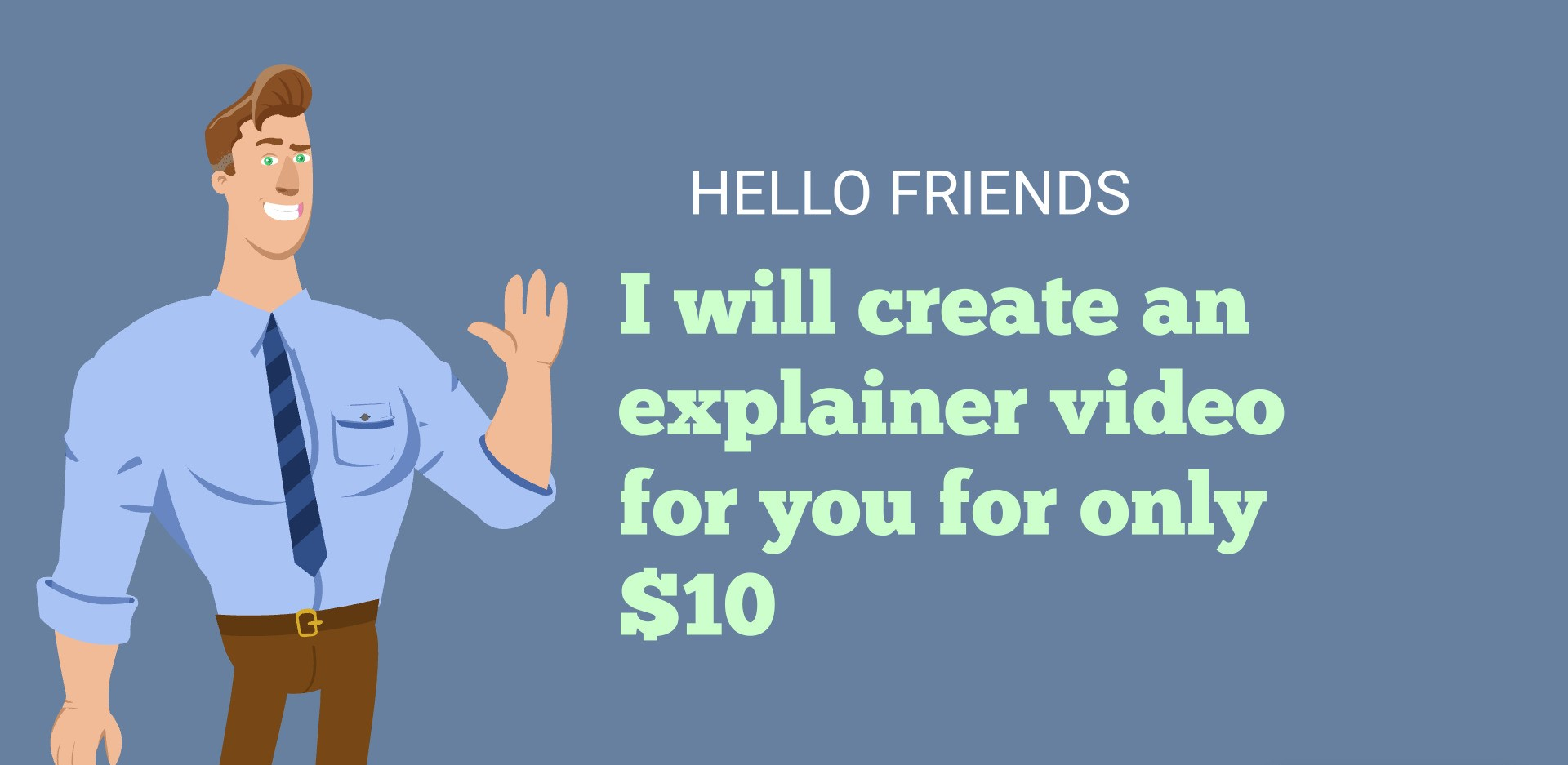 I will create the best explainer video for you