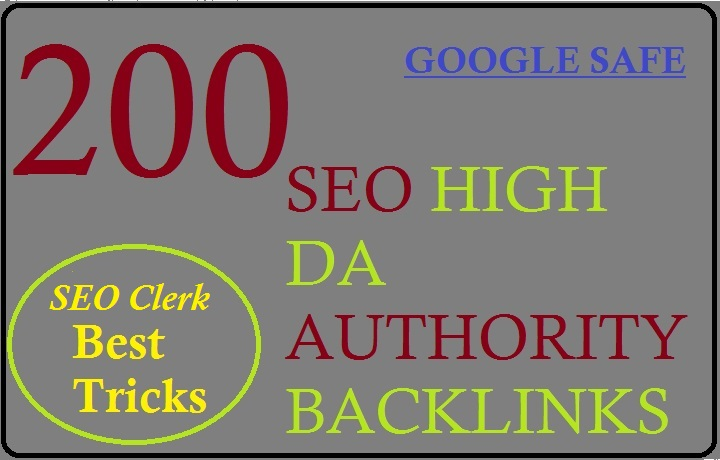 I will do make 200 high authority seo backlink link building service for google top ranking