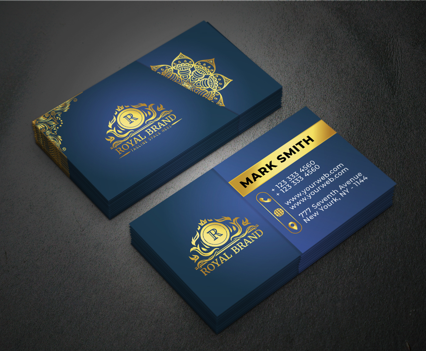 i will do professional fabulous business card design for your business.