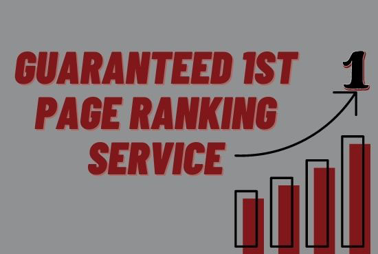 Best Google First Page Ranking Service