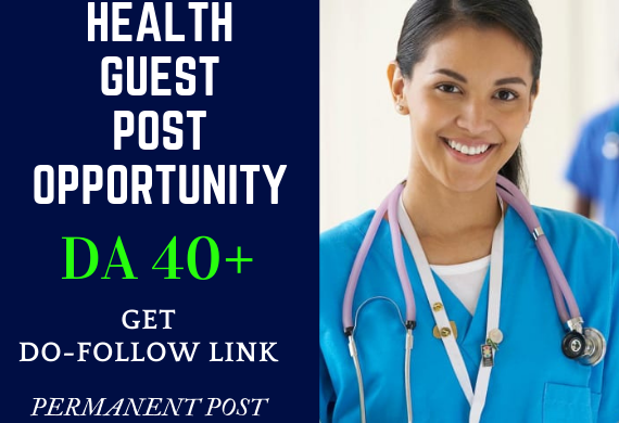 I Will Do Health Guest Post on High Authority Blogs