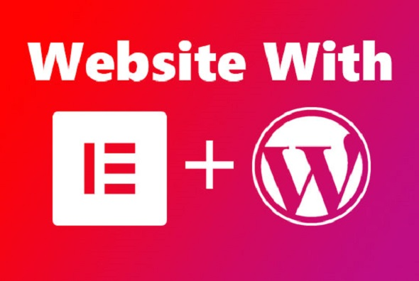 I will build a responsive WordPress website with Elementor pro