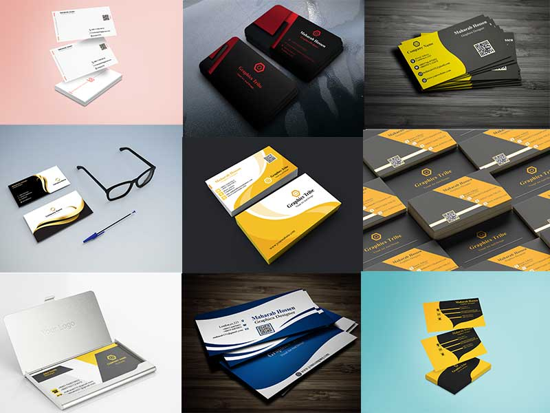 i will do stylish,  stunning or modern business card design