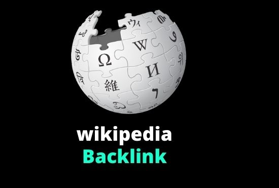manually High DA PA and permanent wikipedia backlink service for higher ranking