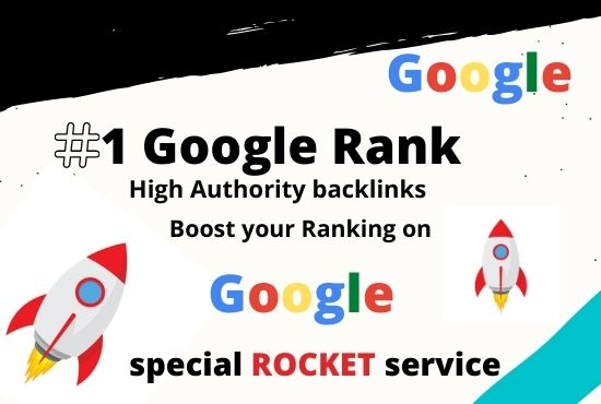 Get fastest ranking on Google within 2 Weeks with special rocket service