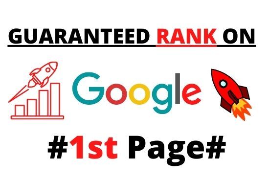 Guaranteed rank on google 1st page service with 3000 high quality backlink