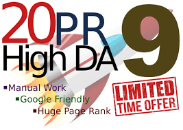 l will manually provided 20 pr-9 profile Backlinks Service - Fire Your Google Ranking