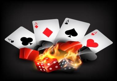 Get 300 DA 55+ casino gambling poker betting related sites