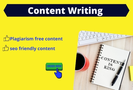 I will do 1200 words SEO friendly content writing. Blog writing and article writing