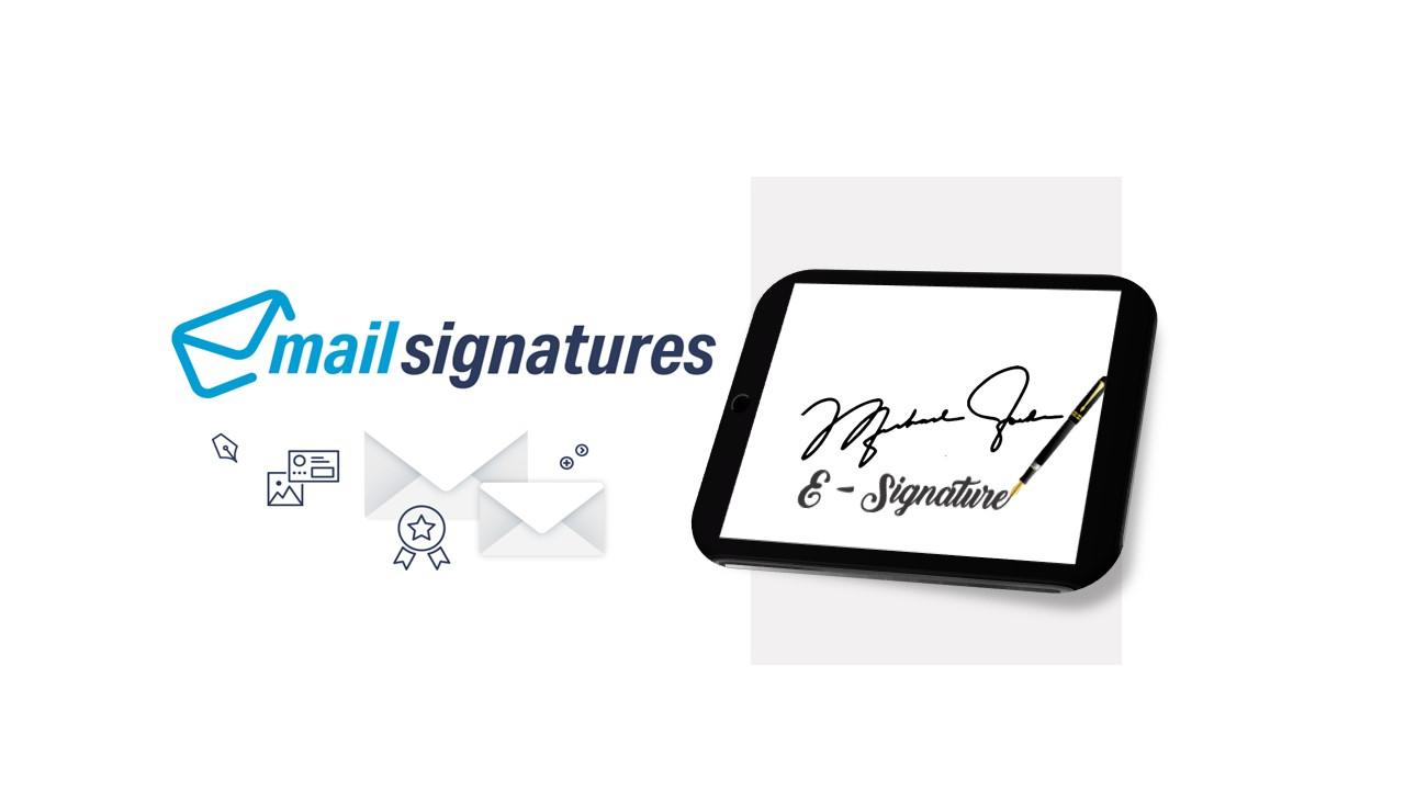 want a clickable E-mail signature