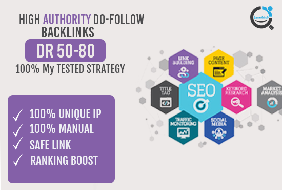 5 High Authority Dofollow Pbn backlinks DR 50+