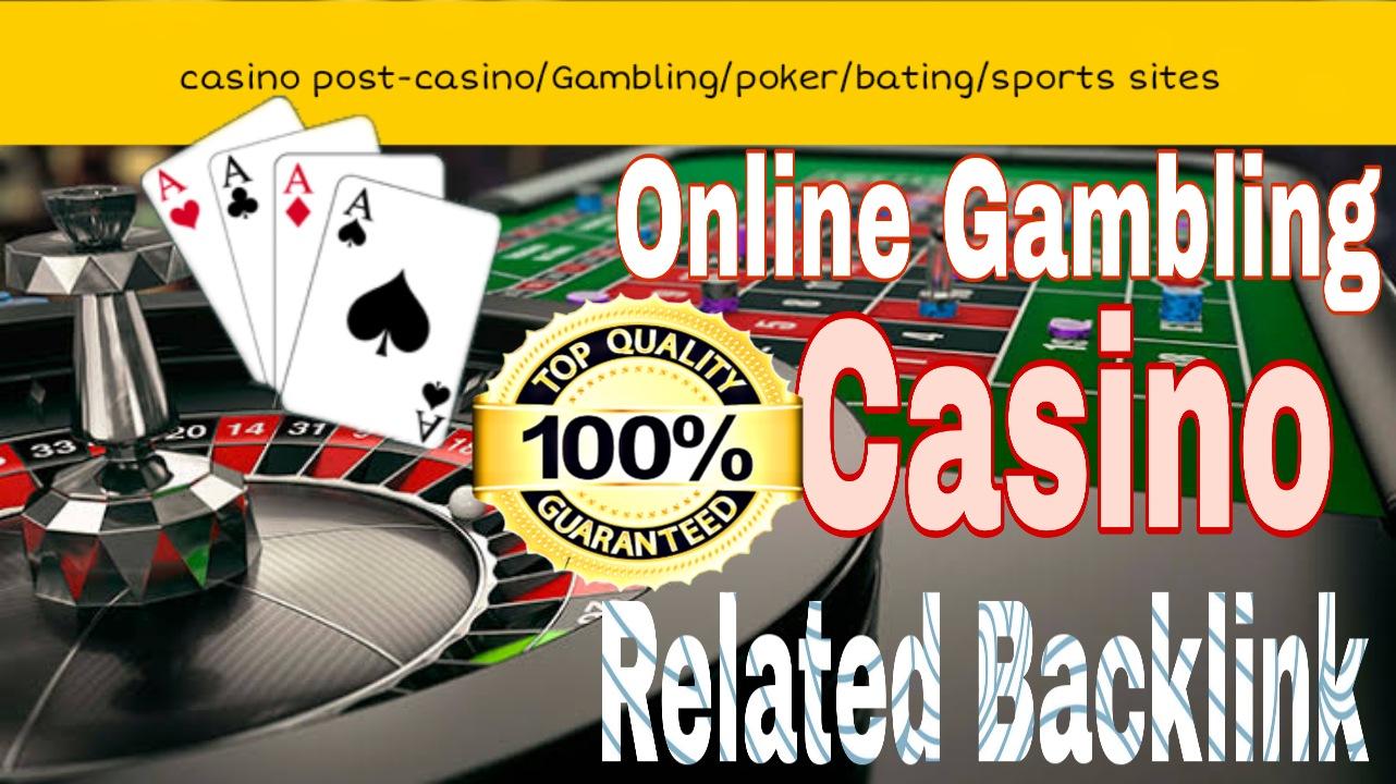 40 permanent DA 50+ PBN Backlinks poker,  Gambling,  casino,  Judi Related Websites