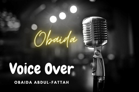 Profesionally record 500words in English french or Arabic voice over