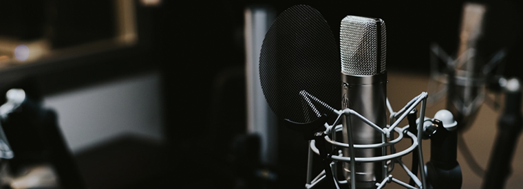 I will record a 100 words or more VOICEOVER for your project