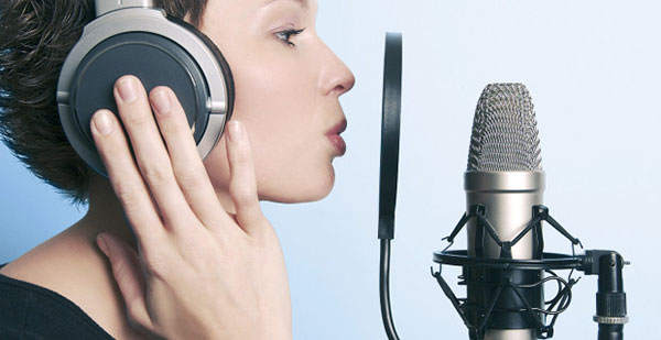 we will record real HD voice to you professionally