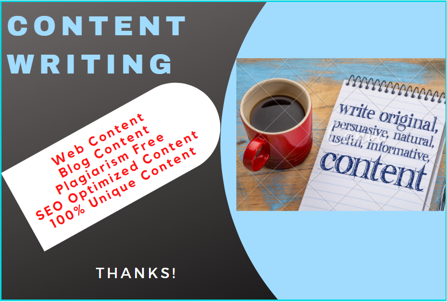 I will write 1500 words unique SEO optimized content for your blog