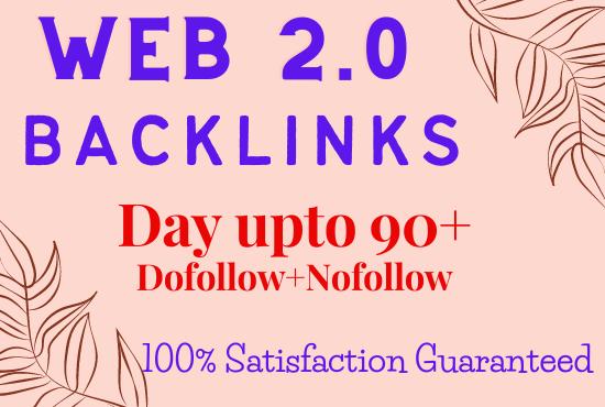 I will create web 2 0 backlinks manually