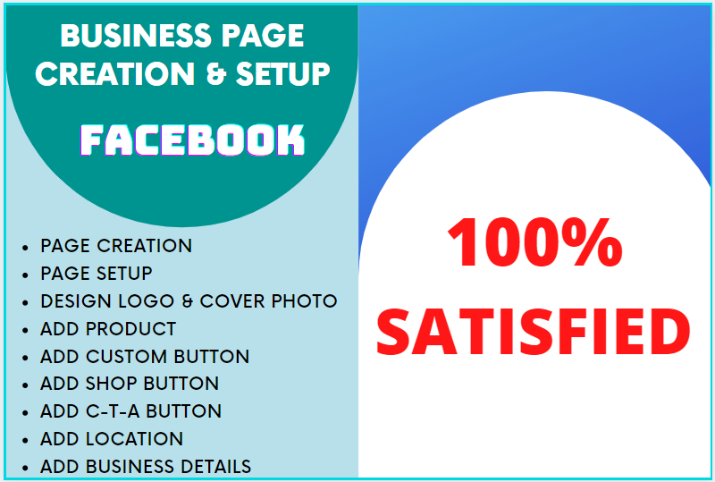 I will do facebook business page creation and optimization