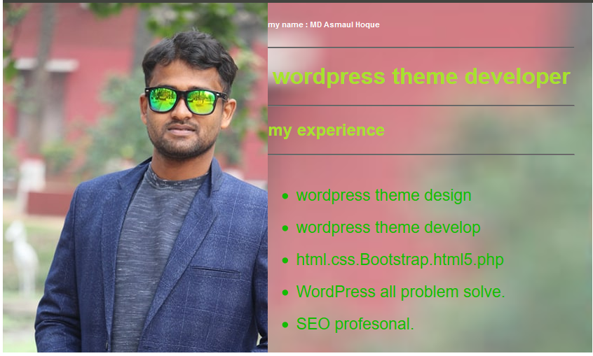I will do WordPress theme customization and WordPress Website Design.