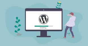 I will do WordPress install and theme setup.