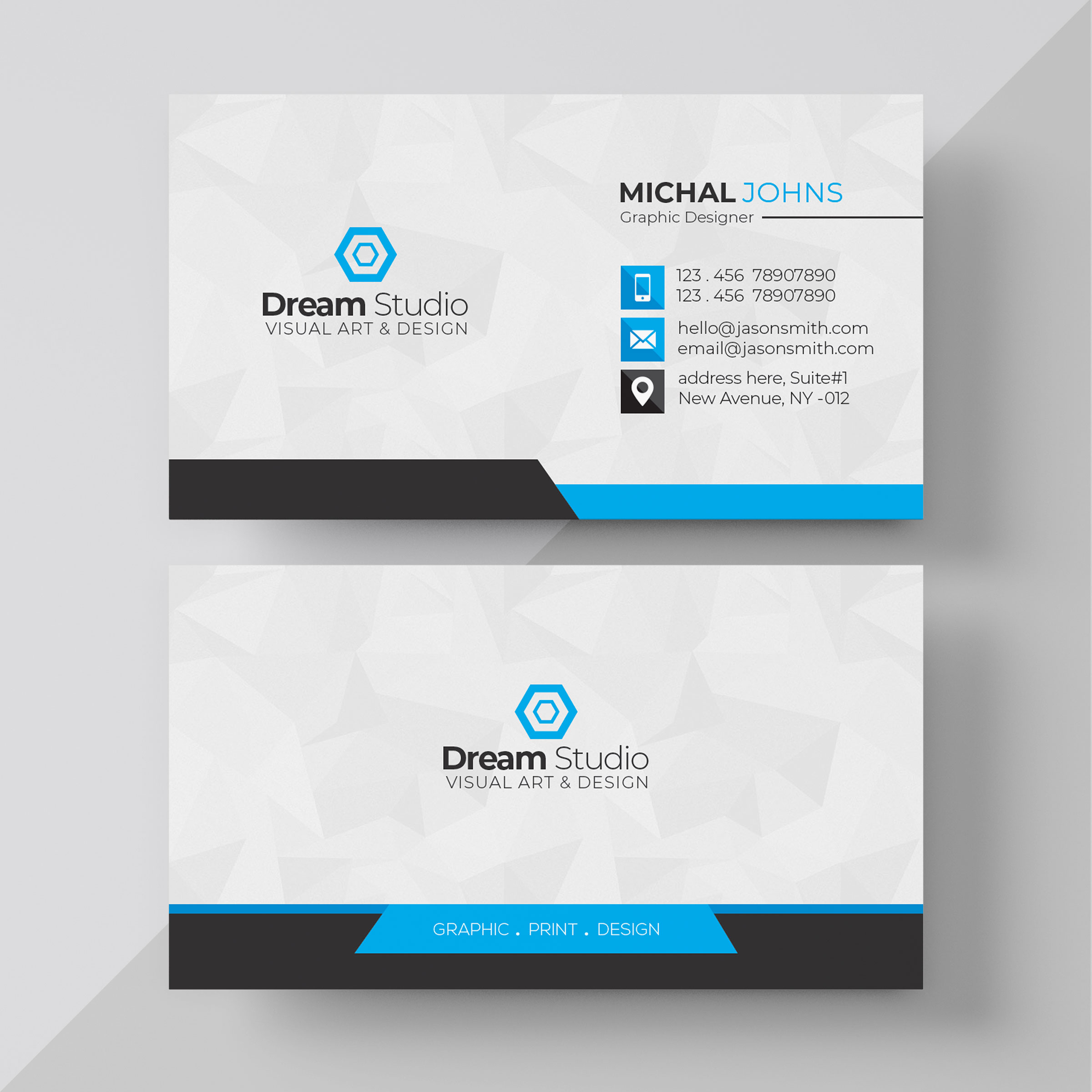I will design professional and outstanding business card design